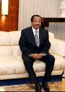 Paul Biya is alive but on self quarantine in Mvomeka'a