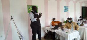 Eugene Nforngwa, #DefyHateNow workshop facilitator