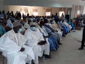 Traditional Rulers meeting with Minister Paul Atanga Nji