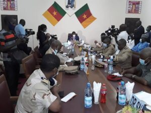 Security meeting in the Far North region