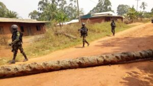 Cameroonian soldiers in the restive Anglophone Regions (Archives)