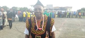 Bakari Alfred, Wimbum community chief, Douala town