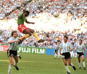 Cameroon - Argentina, Mondial 1990