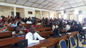IRIC Students receiving lectures
