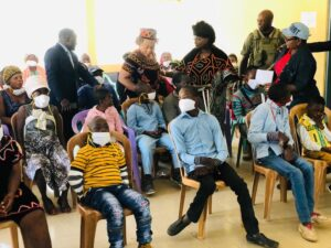 IDPs with special needs in the Bamenda II Sub Division