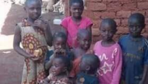 Some of the children killed during the Ngarbuh Massacre