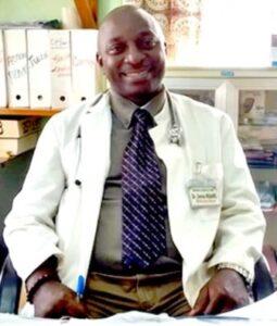 Director of NW Regional Hospital, Dr. Denis Nsame