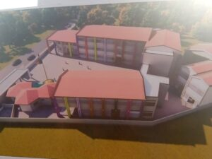Design of the modern primary Schools to be constructed