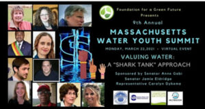 Participants at the Massachusetts Water Youth Summit through Video Conference