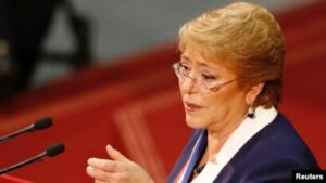 UN High Commissioner for Human Rights, Michelle Bachelet