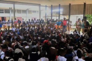 A sensitisation campaign on menstrual health education in a private school in the SWR of Cameroon