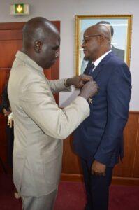 Alamine Ousmane Mey et Solomane KONE