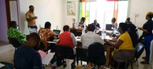 Brainstorming session between civil society organizations and representative of the ministry of forest and wildlife