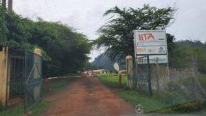 Main entrance of IITA Cameroon