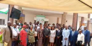 Group photo of journos after receiving training on scaling up nutrition organised by the J&A Oben Foundation