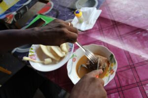 Bushmeat pepper soup is a delicacy in most communities in Cameroon (Picture by Solomon Tembang)