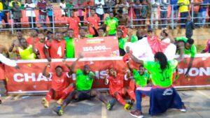 Bafut Rangers celebrating their qualification